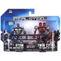 Набор из 2 героев Атом и Близнец (Atom vs. Twin Real Steel Movie) Реальная сталь купить
