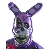 Пластмассовая Маска Кошмарный Бонни (Nightmare Bonnie Mask) в Москве