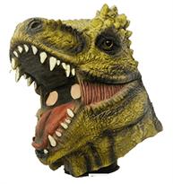 Маска зеленого динозавра купить в Москве
