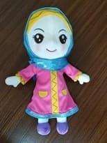 Мусульманская Кукла в синей хиджабе (30 см) купить