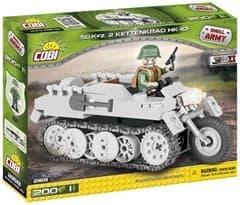 Конструктор танк Полугусинечный мотовездеход NSU Kettenkrad HK 101 (200 деталей) купить