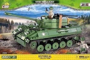 Конструктор Истребитель танков 76-мм самоходная пушка M18, «Хеллкэт» (460 деталей) купить