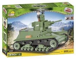 Конструктор легкий танк 7TP (370 деталей) купить