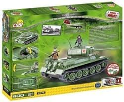 Конструктор советский танк Т34  (400 деталей) купить