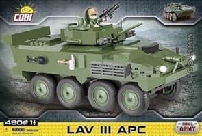 Конструктор БМП LAV III  (480 деталей) купить