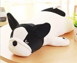 Мягкая Игрушка Подушка Собака (черно-белая) купить