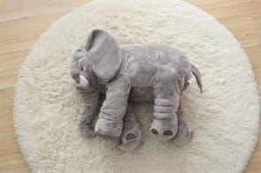 Мягкая Игрушка Подушка Слон (серый)