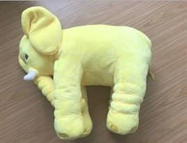 Мягкая Игрушка Подушка Слон (желтый) купить