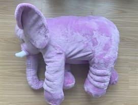 Мягкая Игрушка Подушка Слон (пурпурный) купить