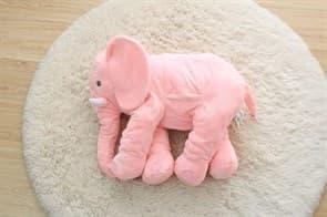 Мягкая Игрушка Подушка Слон (розовый) купить