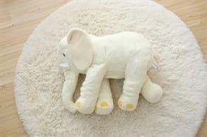 Мягкая Игрушка Подушка Слон (белый) купить