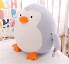 Плюшевый Пингвин-подушка (белый 40 см) купить