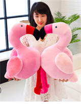 милое розовое фламинго