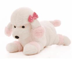 Купить мягкую игрушку розовый Пудель в Москве