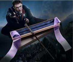 Волшебная палочка Гарри Поттера (с синими лентами) купить