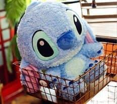 Мягкая игрушка Стич (голубой 45 см)