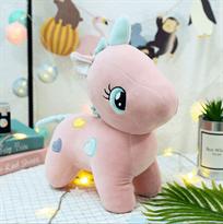 плюшевый розовый пони