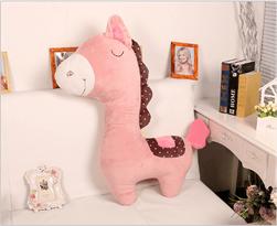 необычная игрушка розовое пони