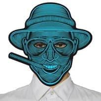 Светодиодная маска (Человек с сигарой) купить