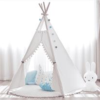 Крытая детская палатка домик