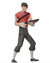 кукла игрушка scout разведчик team fortress 2