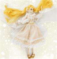 крутая подвижная кукла в стиле аниме