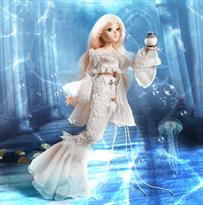 кукла девушка в красивом платье 12 созвездий Рыбы