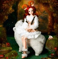 Рыжая девочка кукла купить
