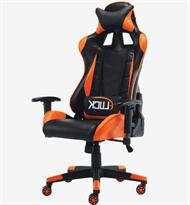 киберспортивное кресло оранжевого цвета купить