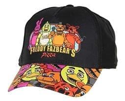 Кепка Бейсболка ФНАФ пиццерия (FNAF Freddy's Fazbear's Pizza)