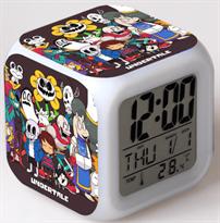 часы будильник с персонажами андертейл undertale купить в москве