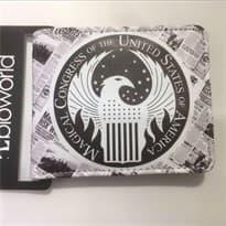 Кошелек с лого Магический Конгресс США купить в Москве
