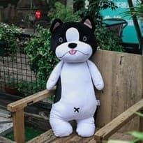 Мягкая игрушка собака Бульдог, 60 см купить