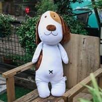 Мягкая игрушка собака Бигль 60 см