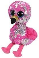 Мягкая игрушка Фламинго с пайетками купить в Москве