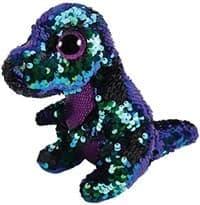 Мягкая игрушка Динозавр с пайетками (зеленый) купить