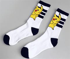 крутые белые носки покемон пикачу купить