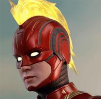 маска капитана марвела captain marvel купить