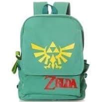Зеленый рюкзак Легенда о Зельде с логотипом игры The Legend of Zelda