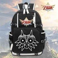 Черный рюкзак Легенда о Зельде с рисунком The Legend of Zelda