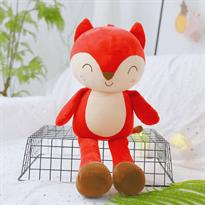 Плюшевая игрушка красная маленькая Лисичка (50 см)