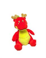 Плюшевая игрушка красный дракон (20 см)