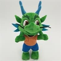 Плюшевая игрушка усатый дракон (25 см)