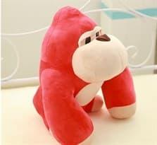 Плюшевая игрушка красный Кинг-Конг (18) см