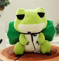 Плюшевая игрушка Лягушка с латкой (25 см)