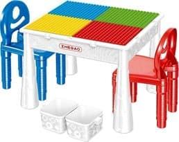 Многофункциональный детский деревянный столик купить