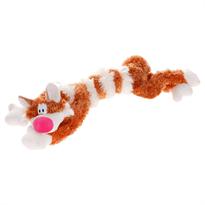 Мягкая рыжая игрушка Кот Бекон