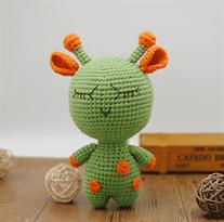 Вязаная игрушка кактус (30 см) (анигуруми)