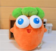 Плюшевая игрушка-подушка морковь (25 см)