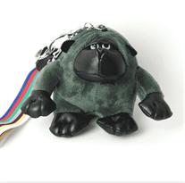 Зеленый брелок обезьяна (15 см)